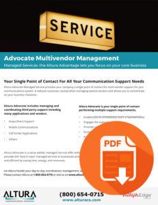 Advocate Multivendor Management Download Icon