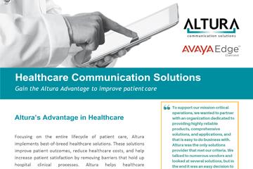 Altura Healthcare Brochure