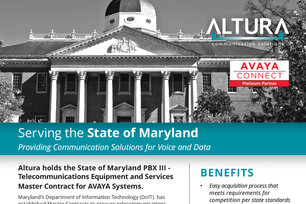 Serving the State of Maryland