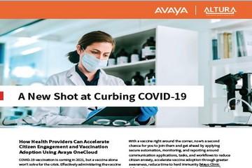 Avaya Covid-19 Vaccine Tracker