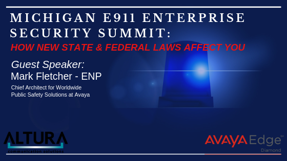 Michigan and Federal Legislation Mandates E911 Compliance
