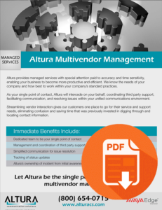 Altura Multivendor Management