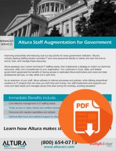 Altura Staff Augmentation for Government