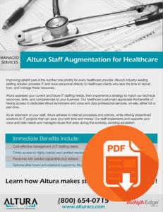 Altura Staff Augmentation for Healthcare