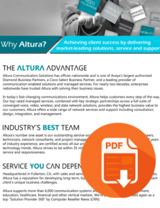 Why Altura?