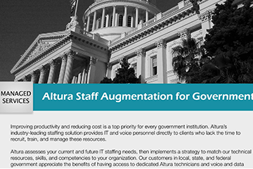 Altura Staff Augmentation for Government
