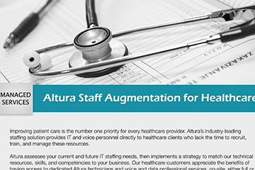 Altura Staff Augmentation for Healthcare