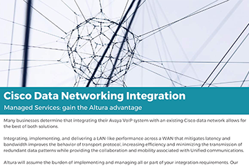 Cisco Data Networking Integration