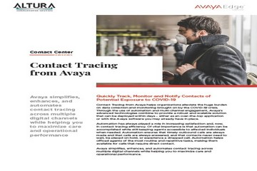 Contact Tracing from Avaya