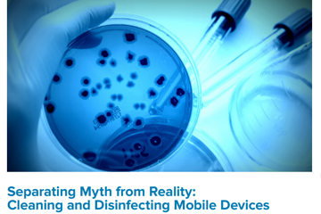 Cleaning and Disinfecting Mobile Devices